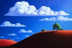 Blue Skys - Oil on Canvas 24 x 36