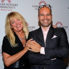 Billy Zane and Janet Roberts -