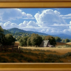 Early Autumn - Oil on Canvas Framed 30 x 42