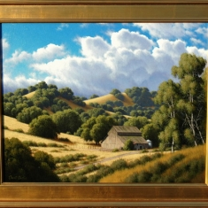 Port San Luis SOLD - Oil on Linen 34 x 28 Framed