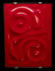 Red Lorca 2 - Klin Fired Glass