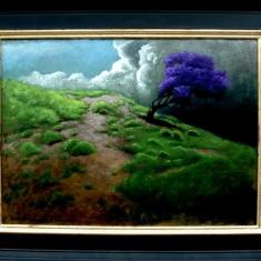 Windswept SOLD - Oil on Panel Framed 24 x 30