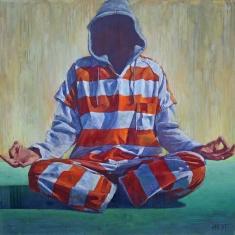 Escape - 56 x 58 Oil on Canvas