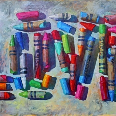 Love Color SOLD - Oil on Canvas 48 x 80