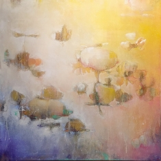 Inventing Ways To Fly SOLD - Oil on Canvas 30 x 30