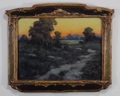 Around the Corner SOLD  - Oil on Linen 12 x 16